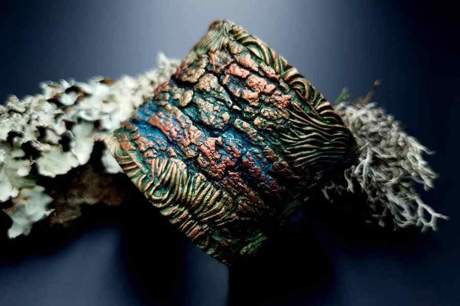 Bracelet Cuff Forest Treasure 20191012_135705