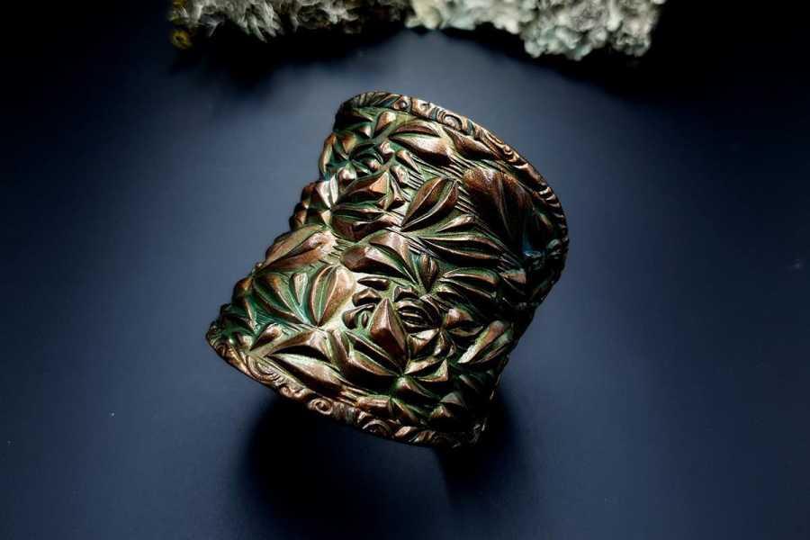 Bracelet Cuff Nature img05