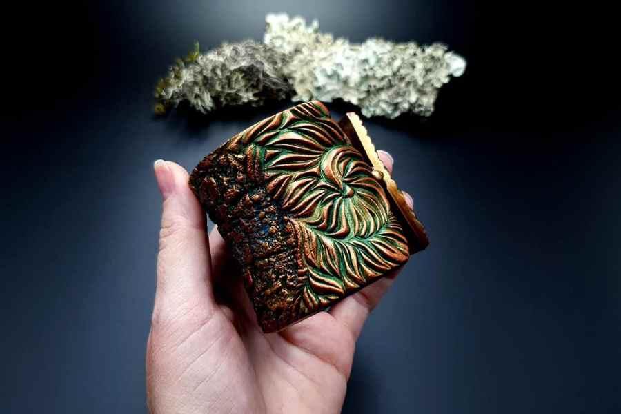 Bracelet Cuff Tree Bark img05