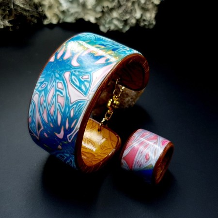 Bracelet Cuff and Ring