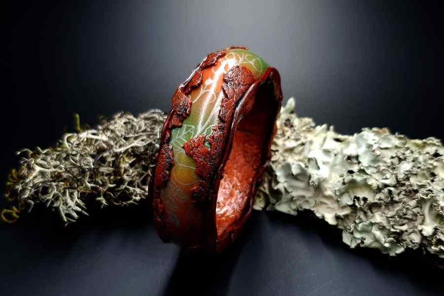 Bracelet Rusted Metal img02