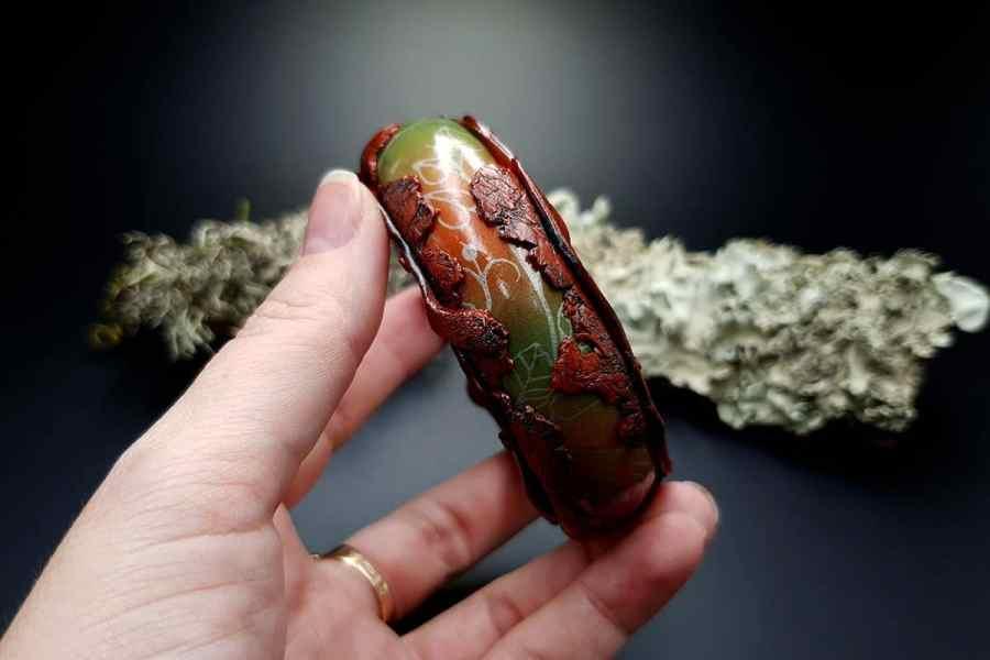 Bracelet Rusted Metal img09