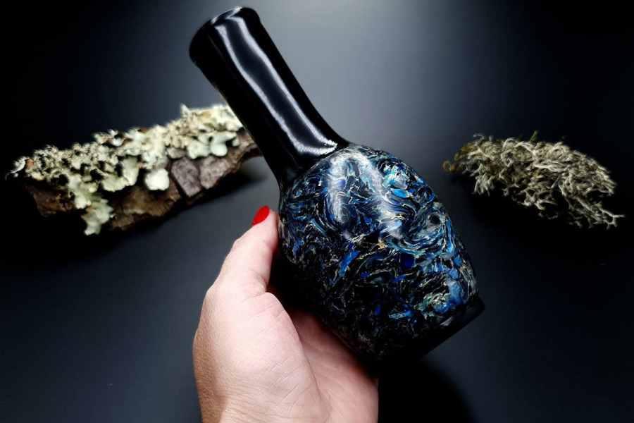 Faux Pietersite Stone Vase 20191012_210646