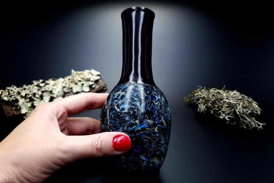 Faux Pietersite Stone Vase 20191012_210837