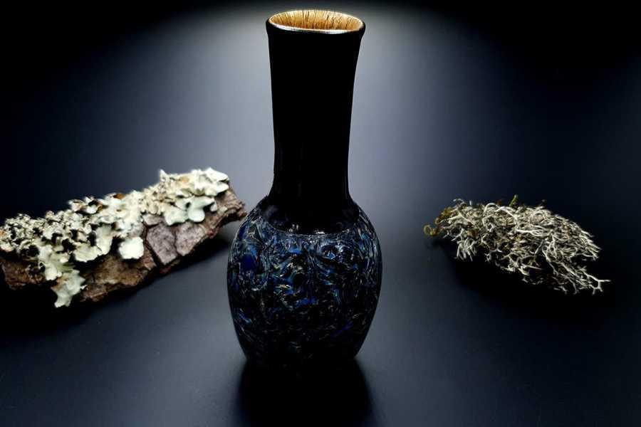 Faux Pietersite Stone Vase 20191012_210846