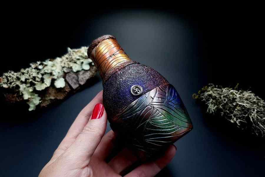 Faux Raku Style Vase 20191012_211334