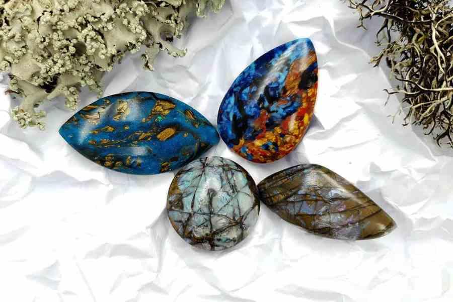 Labradorite Pietersite Stone Mix 20191006_130245