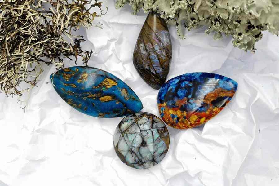 Labradorite Pietersite Stone Mix 20191006_130445