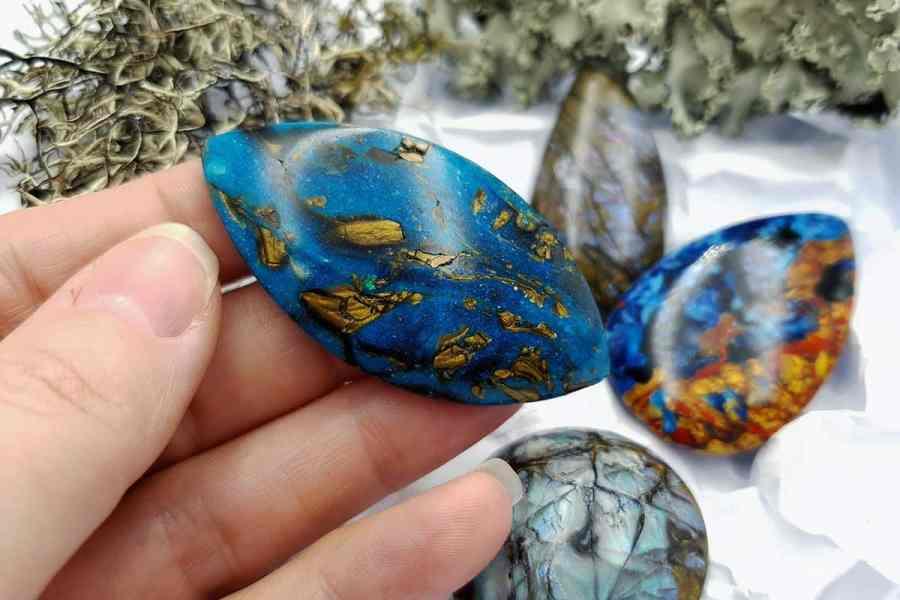 Labradorite Pietersite Stone Mix 20191006_130630