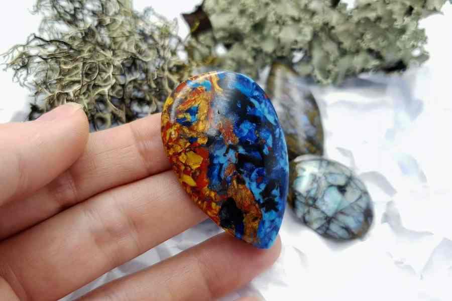 Labradorite Pietersite Stone Mix 20191006_130807