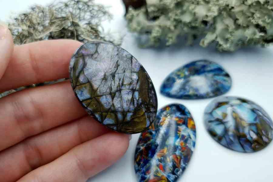 Labradorite Pietersite Stone Mix 20191006_135724