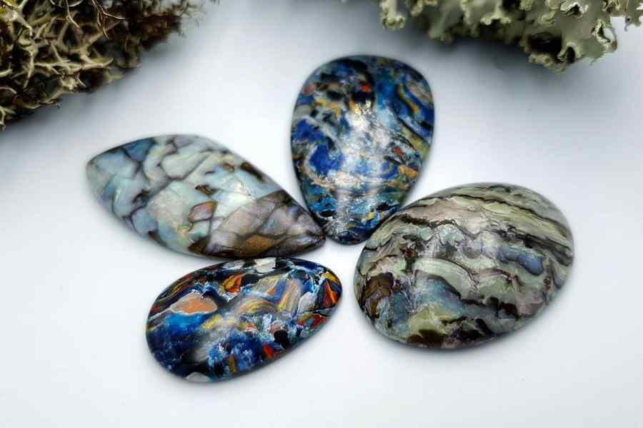 Labradorite Pietersite Stone Mix 20191006_140232