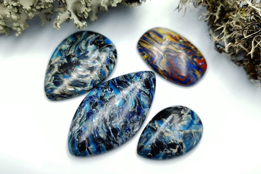 Pietersite Stone Set 08 p02