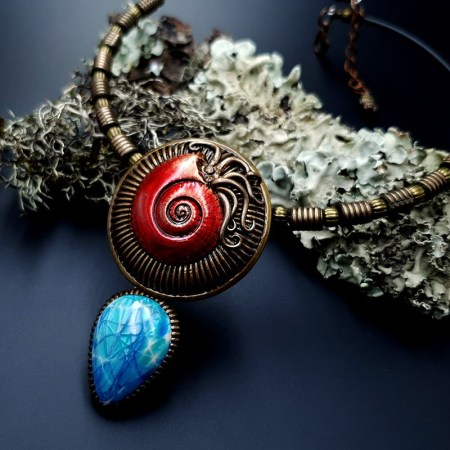 Polymer Clay Necklace #3