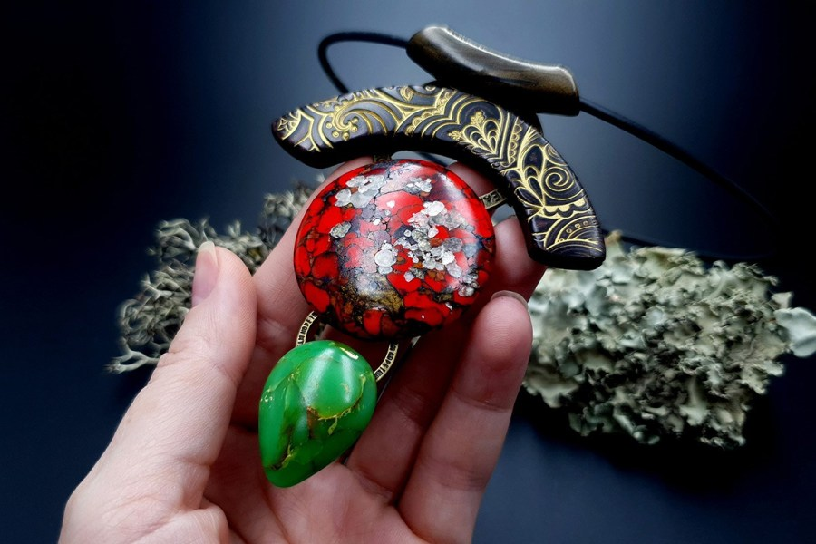 Polymer Clay Necklace 20191009_201857