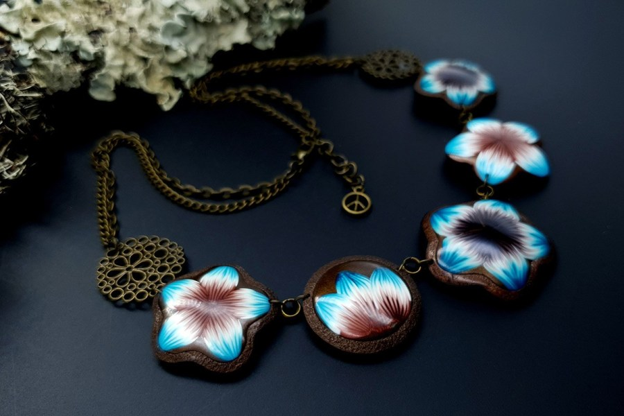 Polymer Clay Necklace 20191009_202816