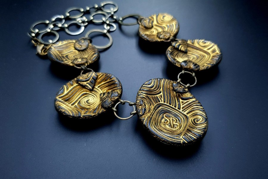 Polymer Clay Necklace 20191011_135237