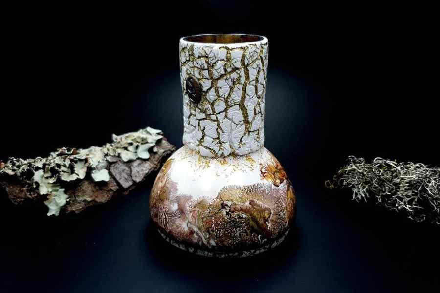 Polymer Clay Vase 20191012_211445