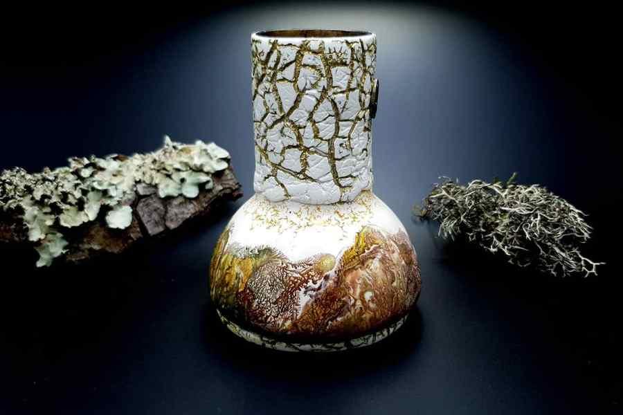 Polymer Clay Vase 20191012_211637