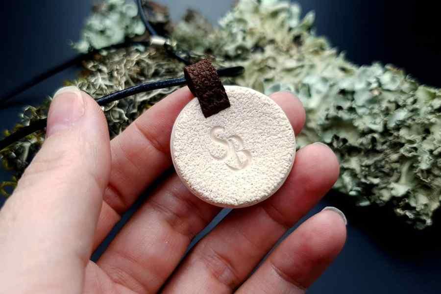 Polymer clay Pendant 20191009_124348