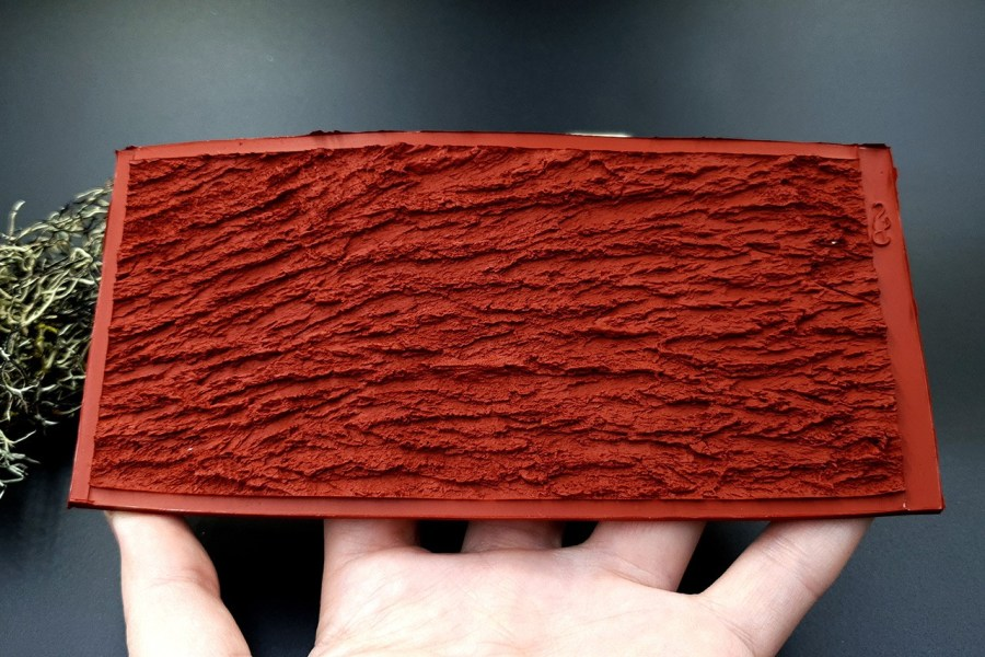 Silicone Texture Bark of Thai Pine Tree #2 - 155x75mm 9