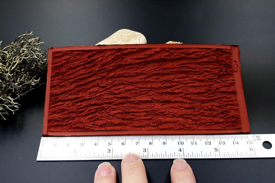 Silicone Texture Bark of Thai Pine Tree #2 - 155x75mm 5