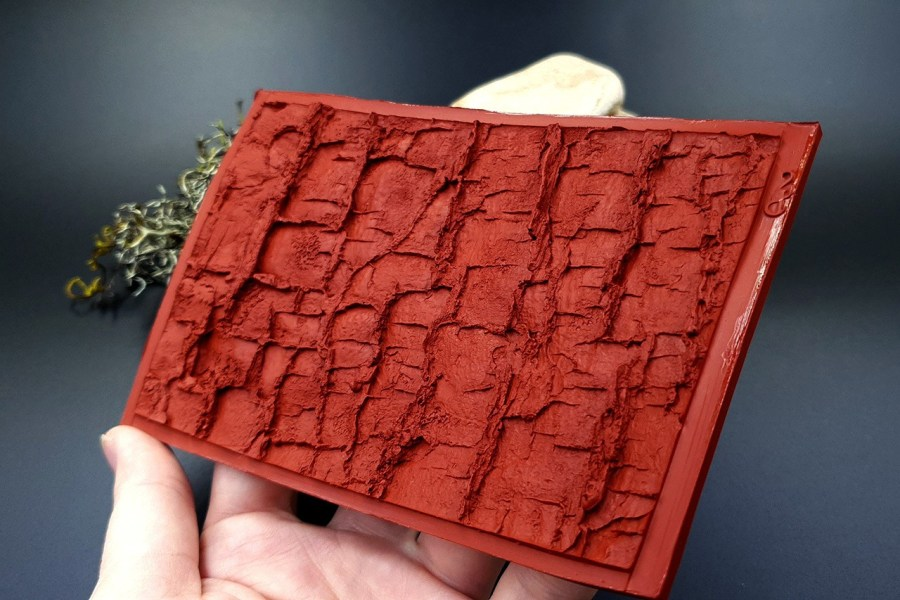 Silicone Texture Forest Tree Bark (Horizontal)- 135x85mm 12