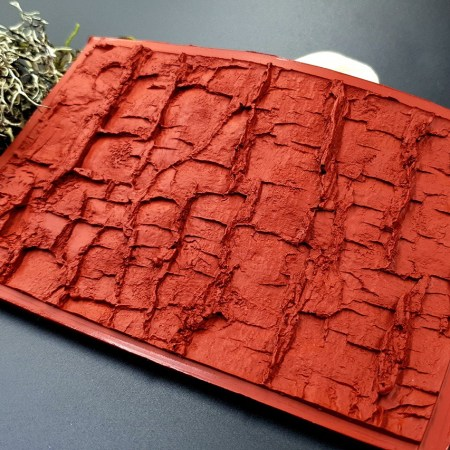 Silicone Texture Forest Tree Bark (Horizontal)