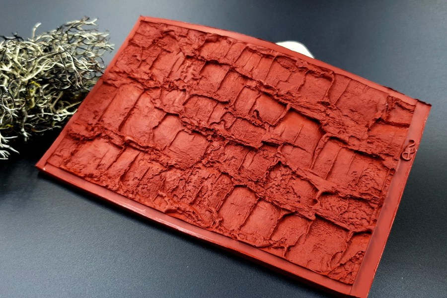 Silicone Texture Forest Tree Bark (Vertical) - 130x83mm 7