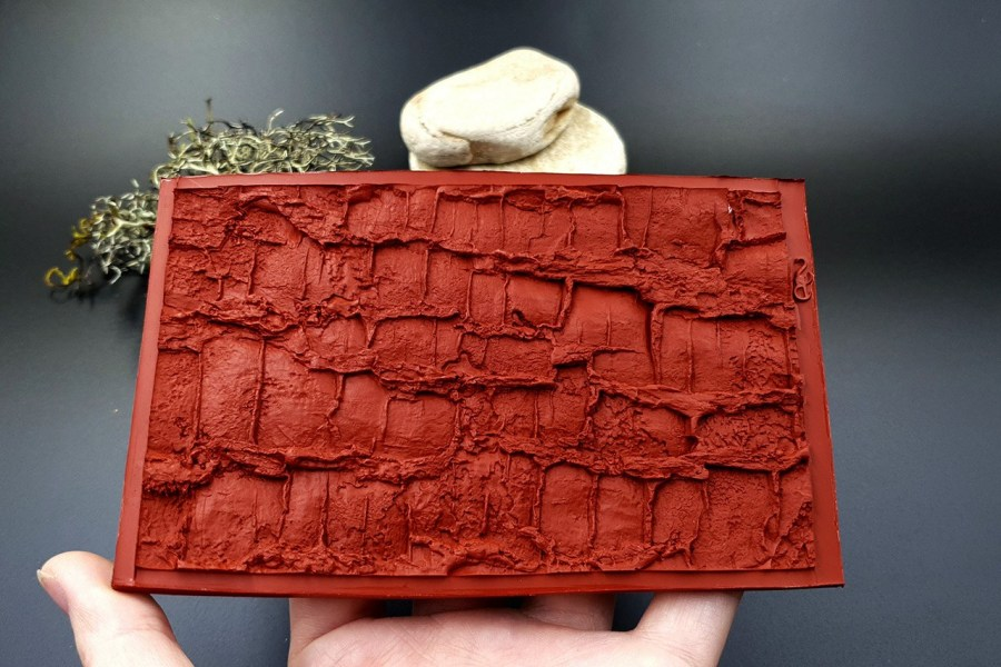 Silicone Texture Forest Tree Bark (Vertical) - 130x83mm 5