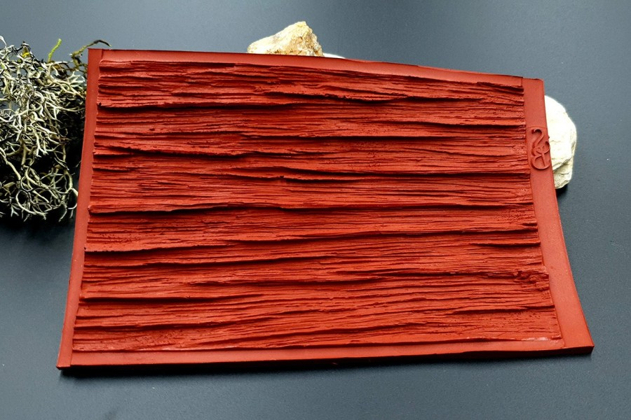 Silicone Texture Old Wood Plank #2 - 140x90mm 8