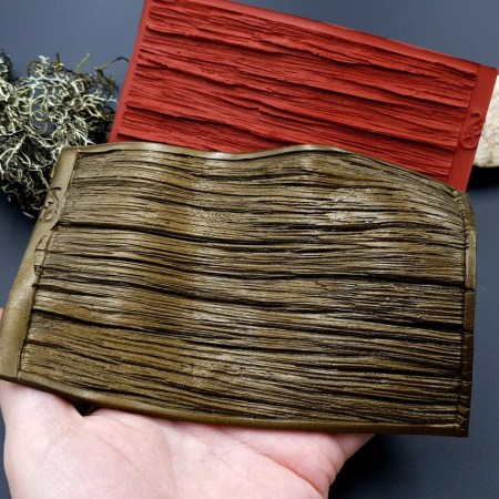 Silicone Texture Old Wood Plank #2 – 140x90mm
