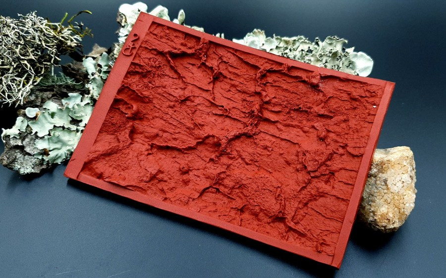 Silicone Texture Old Tree Bark - 135x90mm 10