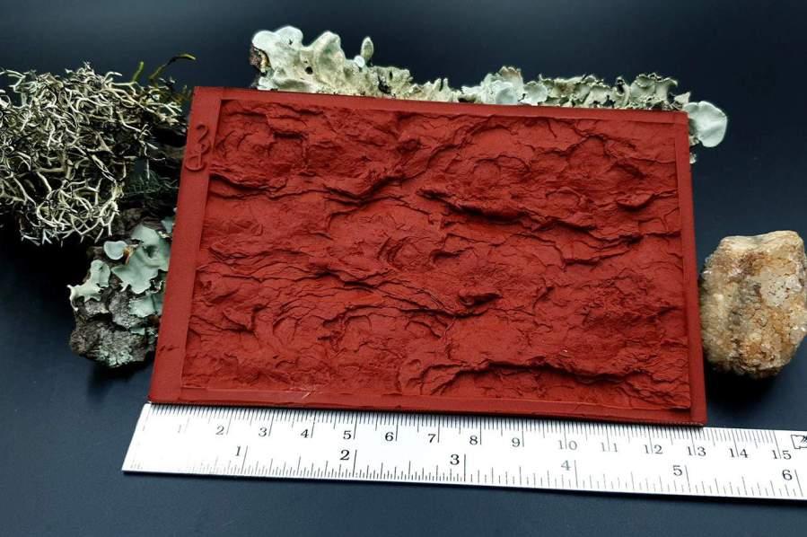 Silicone Texture Pine Tree Bark - 135x90mm 8
