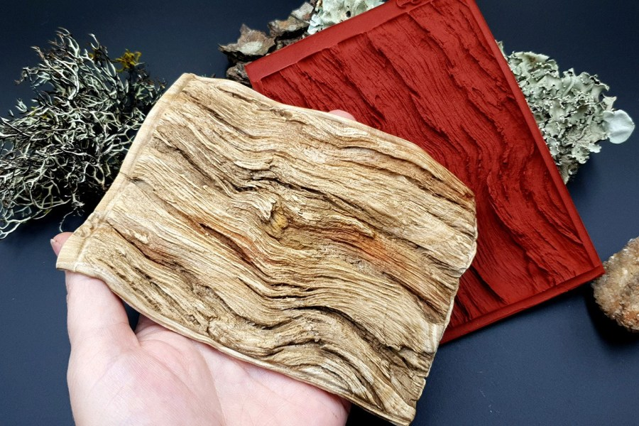 Silicone Texture Drift Wood #1 - 130x95mm 3