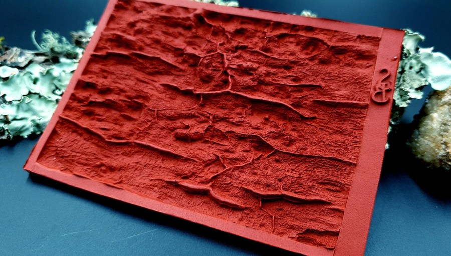 Silicone Texture Drift Wood #3 - 120x80mm