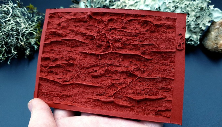 Silicone Texture Drift Wood #3 - 120x80mm 6