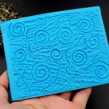 Silicone Texture Art Swirls – 111x85mm