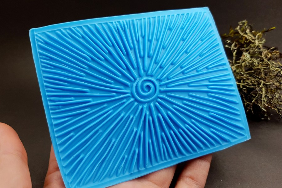 Silicone Texture The Star Light (Opposite) - 108x80mm 2