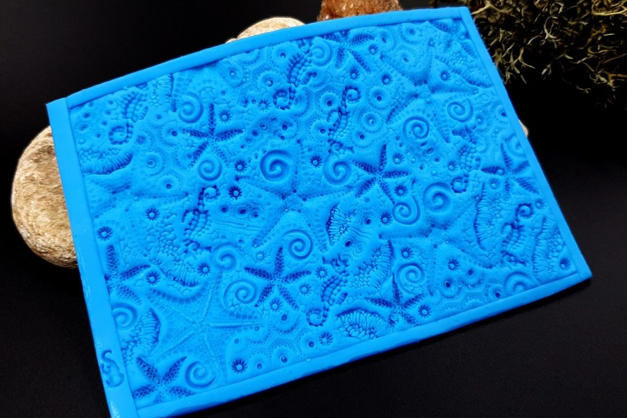 Silicone Texture OUT Oceans Fauna - 120x85mm 10
