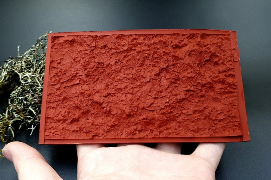 Silicone Texture Mountain Rock #1 - 70x125mm 13