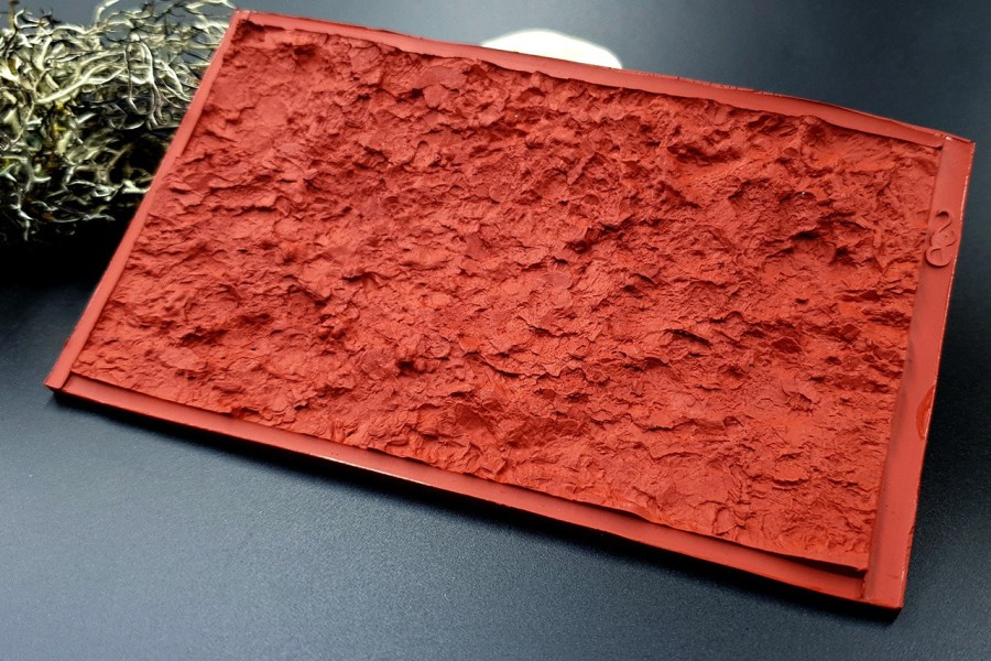 Silicone Texture Mountain Rock #1 - 70x125mm 9