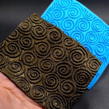 Silicone Texture The Swirls (Textured) – 108x80mm