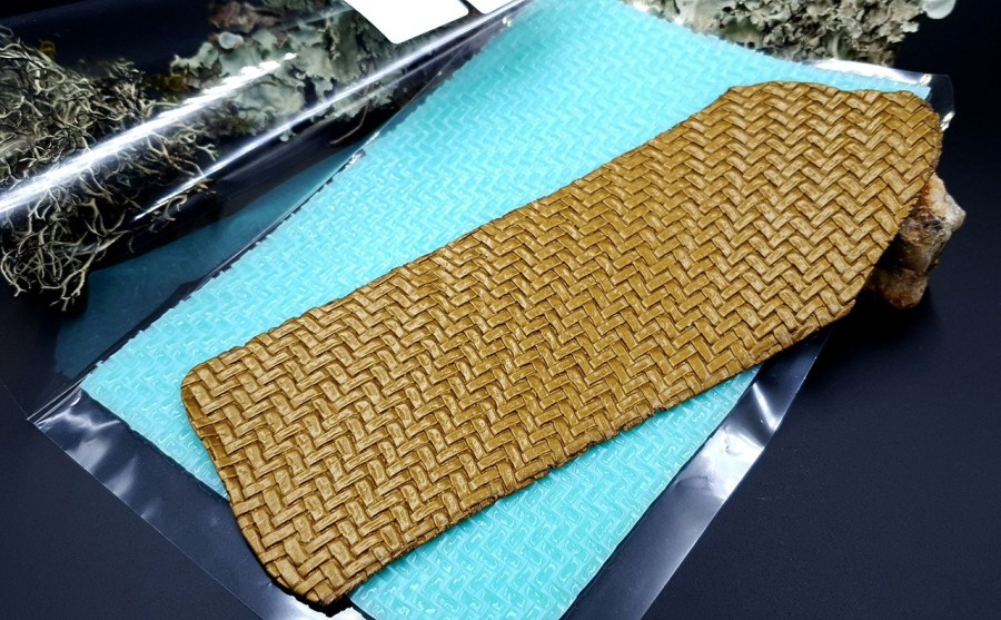 Silicone Texture Weaving Grain #2 - 180x120mm 8