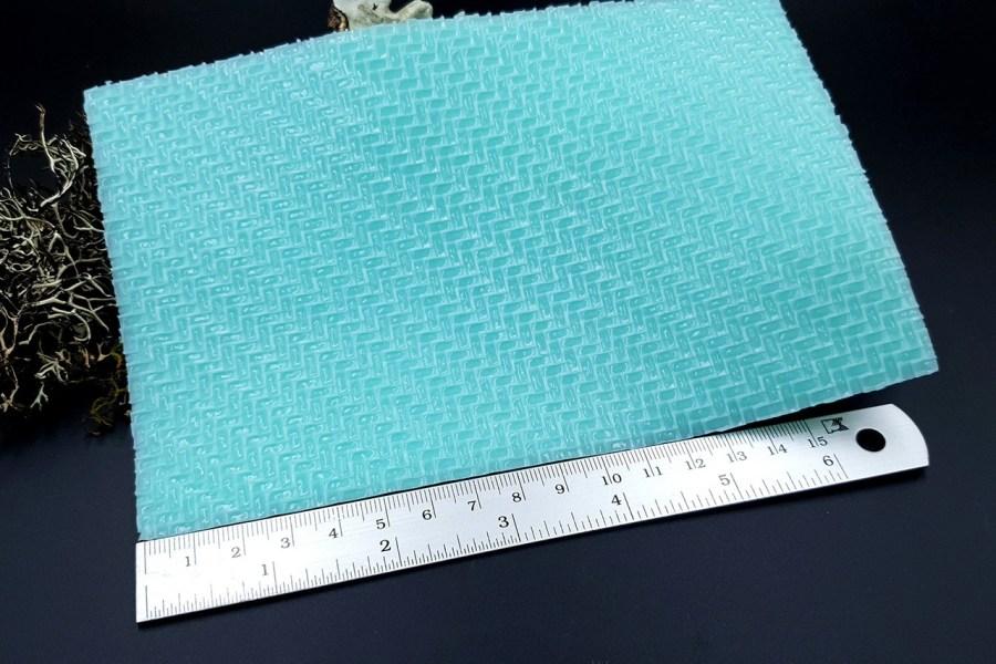 Silicone Texture Weaving Grain #2 - 180x120mm