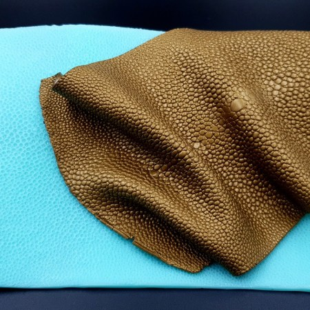 Silicone Texture Stingray Skin Leather – 180x115mm
