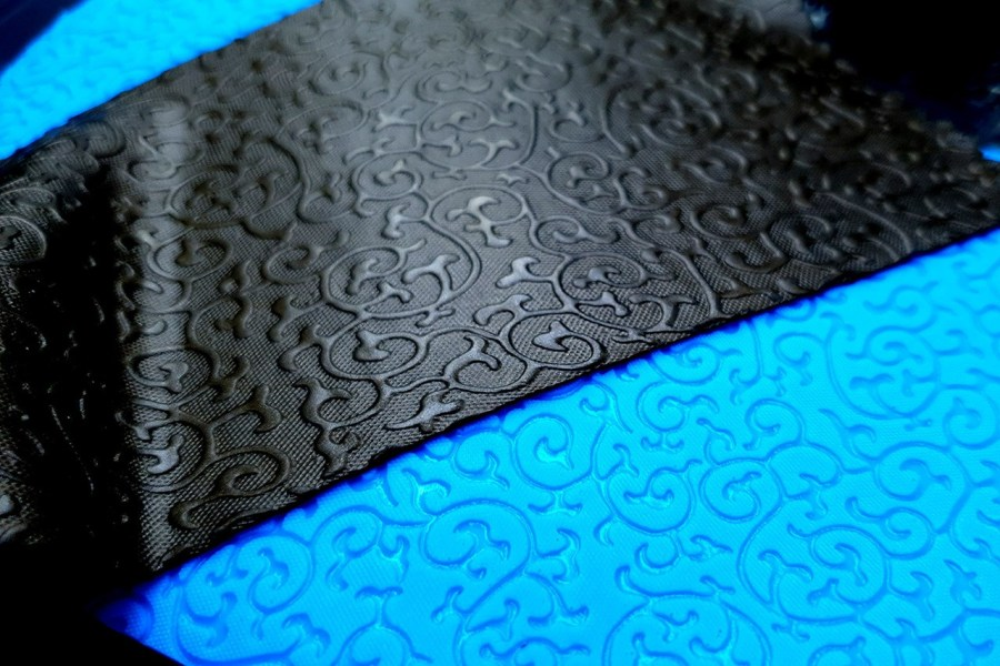 Floral Pattern Silicone Texture - 180x120mm 3