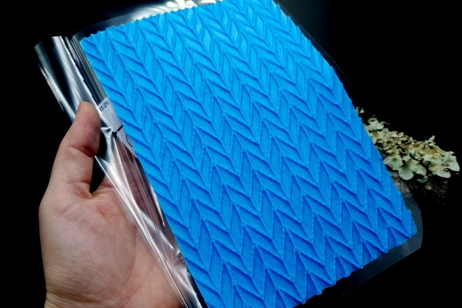 Knitted Pattern Silicone Texture - 180x120mm 8