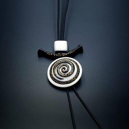 Yin-Yang Swirl Pendant – Cosmic Infinity