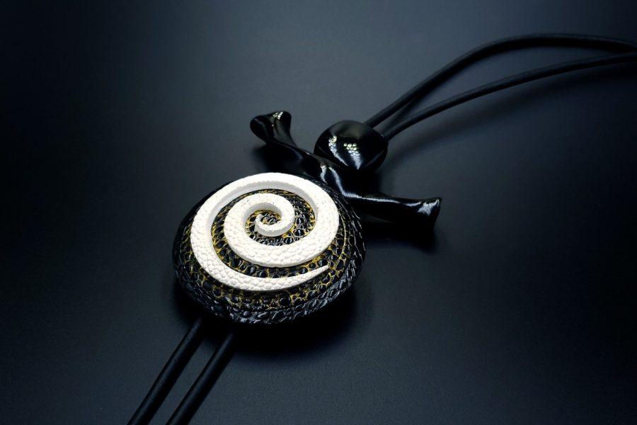 Yin-Yang Swirl Long Pendant - Infiniti of Perfection 3